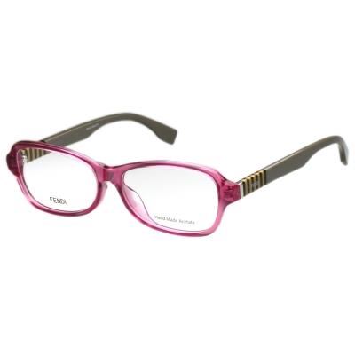 FENDI 時尚光學眼鏡 (粉色)FF1004
