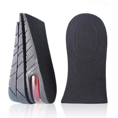 足的美形   黑色氣墊式三層半墊(2雙)