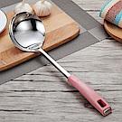 PUSH! 廚具用品彩色手柄不鏽鋼廚具之湯勺D107