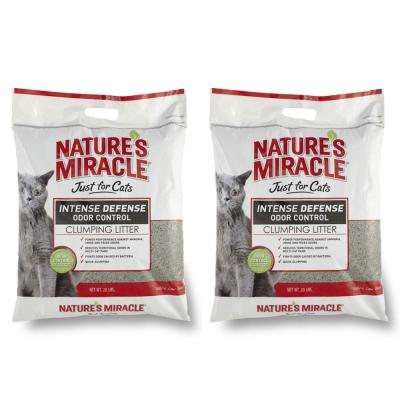 美國8in1 自然奇蹟 - 天然酵素除臭凝結貓砂 20LBS / 9.08kg x 2包入