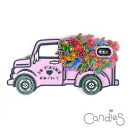 Candies 立體繽紛卡車手機殼(Happiness) iPhone X
