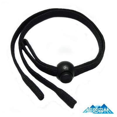 【極地森林】黑色彈性運動安全眼鏡繩(眼鏡帶)2條 - 快速到貨