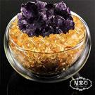 A1寶石 日本頂級天然紫水晶花聚寶盆-招財轉運居家風水必備(含開光-六款任選)