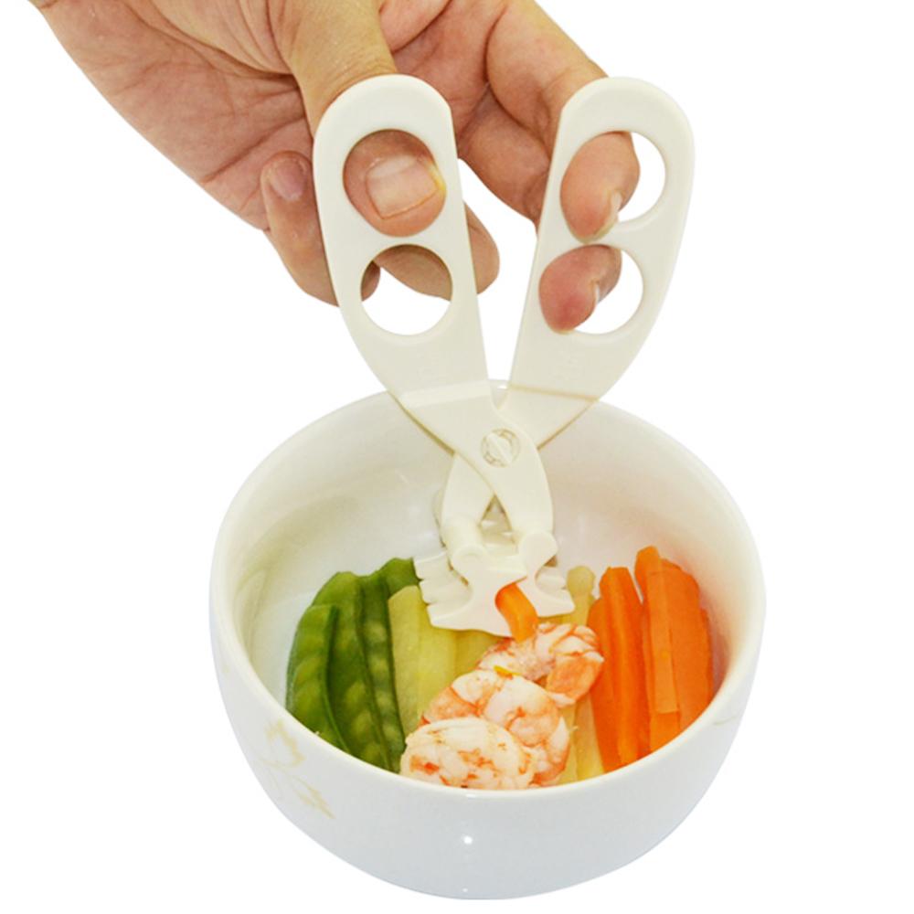 寶寶多功能食物剪刀-二入組
