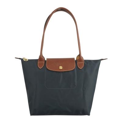 Longchamp-經典摺疊款式長提把水餃包-槍桐