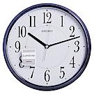 SEIKO 精工 夜光 鐵灰光感外殼 時鐘 掛鐘(QXA671L)