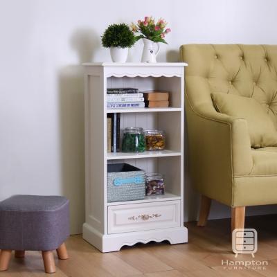 漢妮Hampton安琪拉一抽置物櫃-白色45X30X90cm