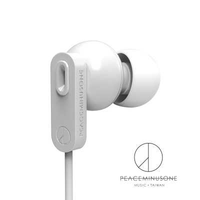 PEACEMINUSONE GD耳機 PMO IN-EAR 入耳式耳機 珍珠白