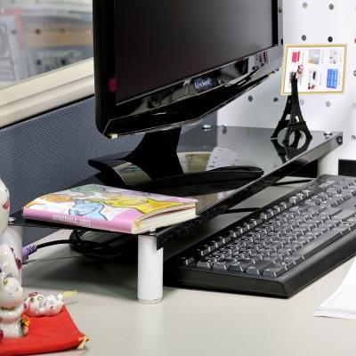 IKLOO宜酷屋 省空間桌上螢幕架/鍵盤架