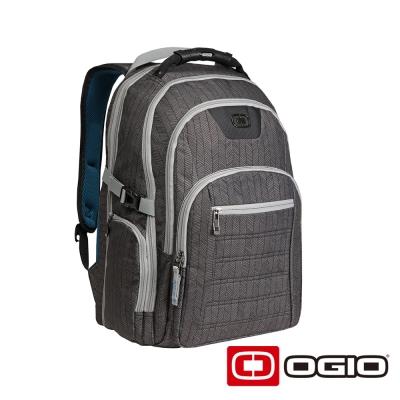 OGIO URBAN 17 吋城市遊俠電腦後背包-葉脈紋灰
