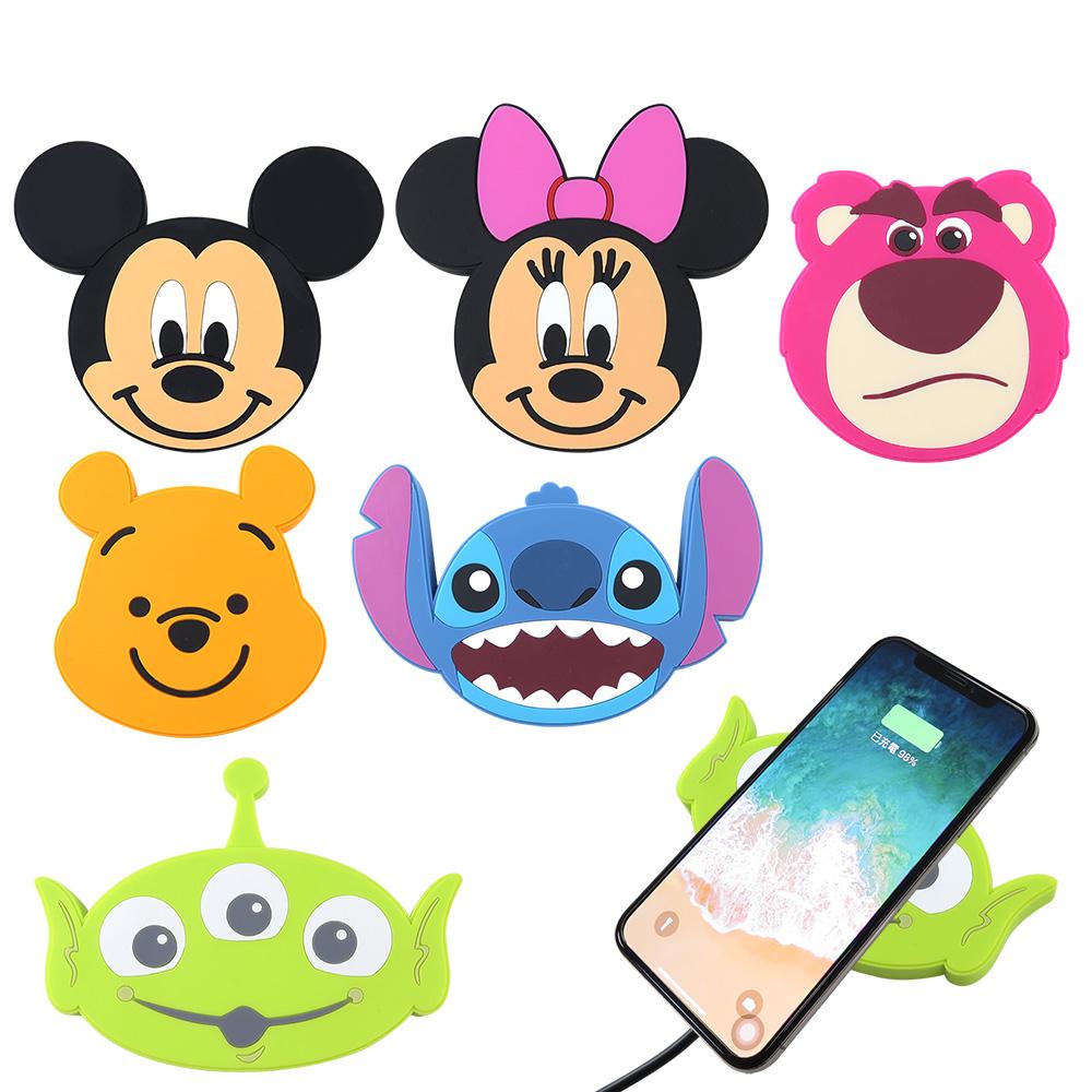 Disney迪士尼可愛大頭無線充電座/充電板