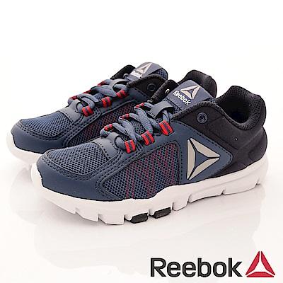 Reebok 頂級童鞋 輕量機能運動款 ZE762藍(中小童段)