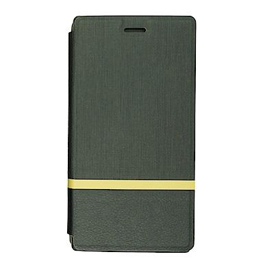 PKG Razer Phone 雷蛇手機專用型側翻式皮套-時尚黑色