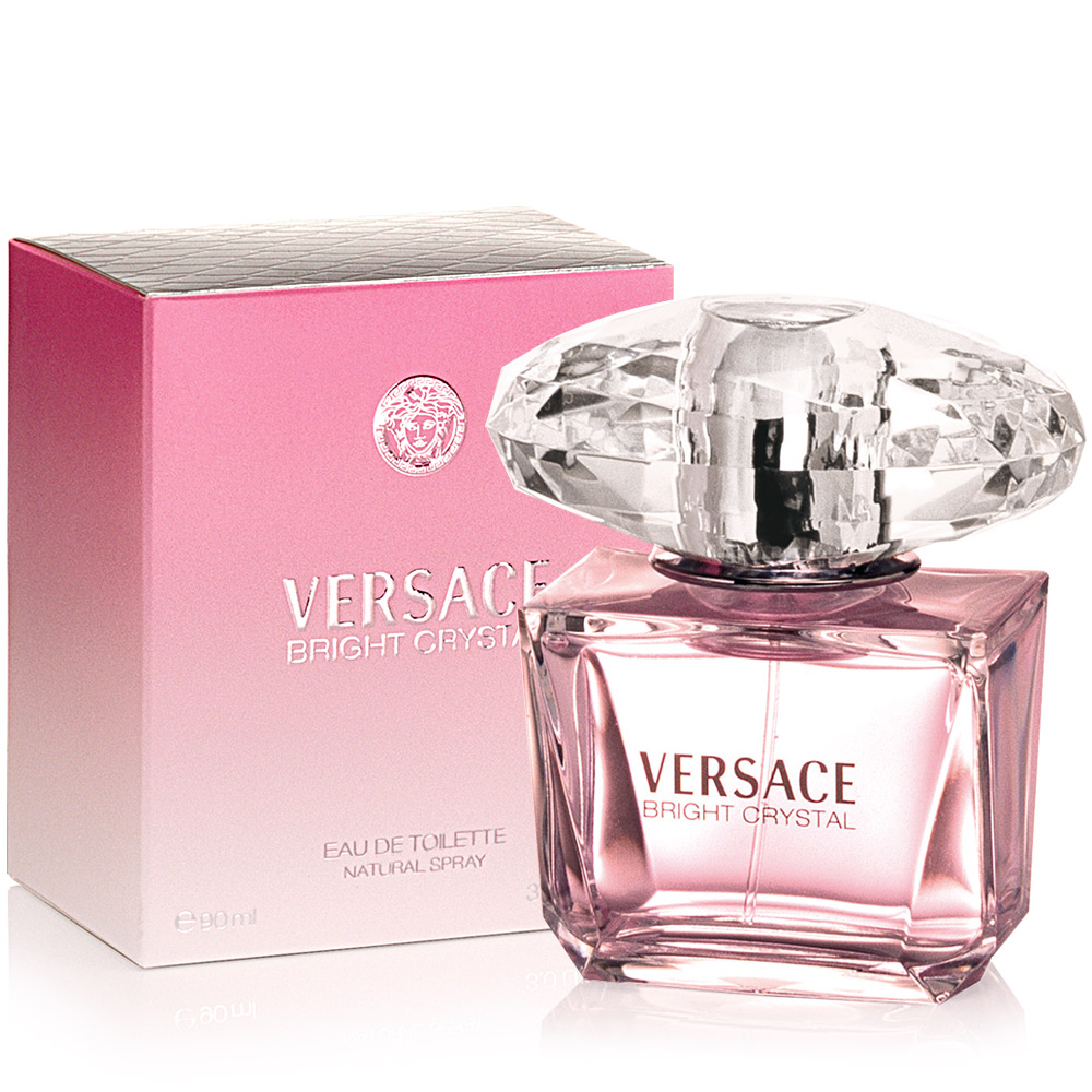 Versace 凡賽斯 香戀水晶女性淡香水90ml