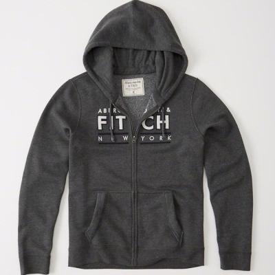 AF a&f Abercrombie & Fitch 外套 灰色 0178