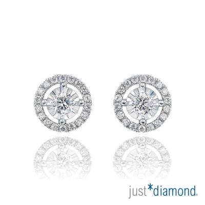 Just Diamond 萬花筒系列 18K金 鑽石耳環