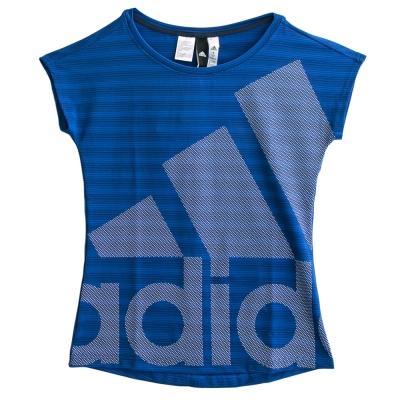 Adidas 愛迪達SS T PES-短袖上衣-女