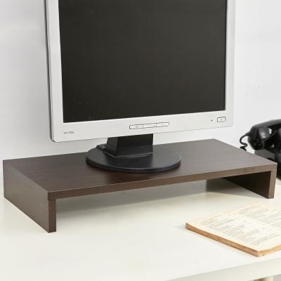 澄境 MIT低甲醛單層電腦螢幕架/桌上架/置物架(2入組)-DIY