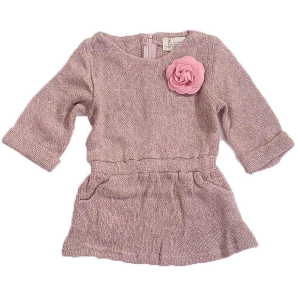 魔法Baby 女童針織毛線洋裝k42916