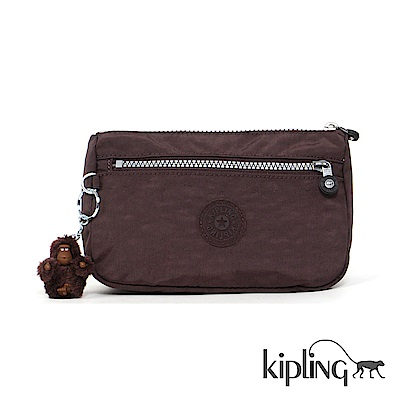 Kipling 零錢包 深紫羅蘭素面-小