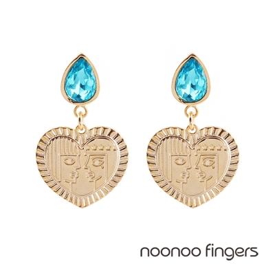 Noonoo-Fingers-Ra-Shu-Tears-埃及太陽神與大氣神-眼淚耳環