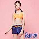 【SUMMERLOVE夏之戀】大女短版三件式泳衣S18707