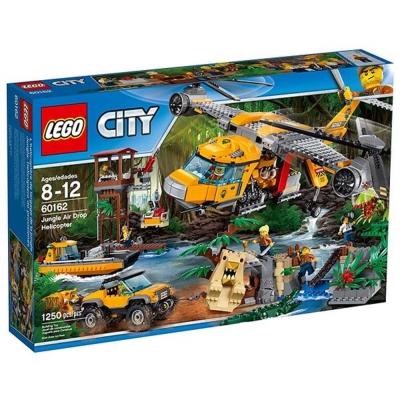 LEGO樂高 城市系列 60162 叢林直升機空投任務
