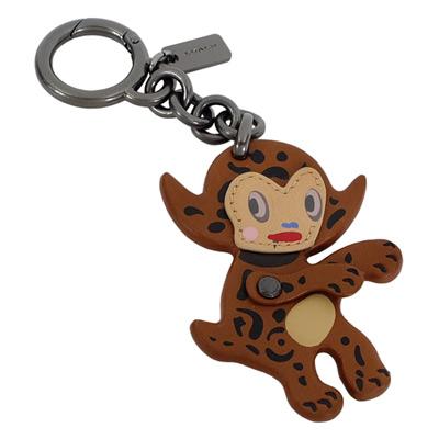 COACH BASEMAN童趣躡足小惡魔造型鑰匙圈COACH