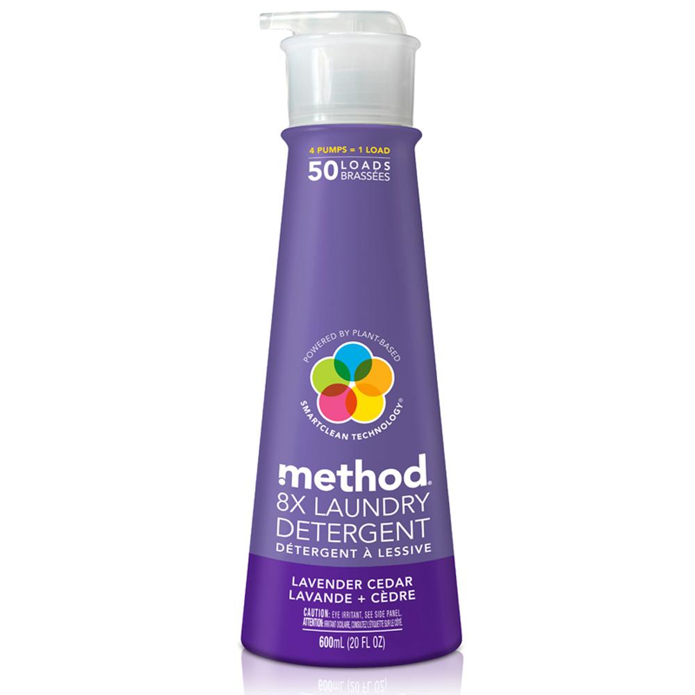 Method 美則 八倍濃縮智慧環保洗衣精-薰衣草600ml