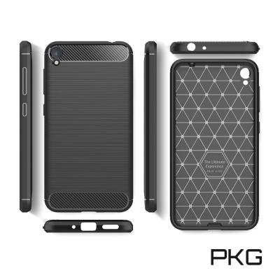PKG  ASUS Zenfone Live ZB501KL 抗震防摔手機殼-碳...