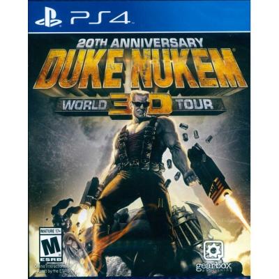 毀滅公爵 3D:20週年世界巡迴紀念版 Duke Nukem 3D -PS4英文美版