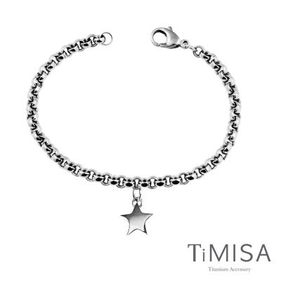 TiMISA《幸運風之戀》純鈦手鍊(S)