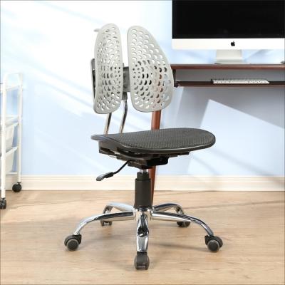 BuyJM 比爾護脊鐵腳PU輪人體工學椅/健康椅-免組裝