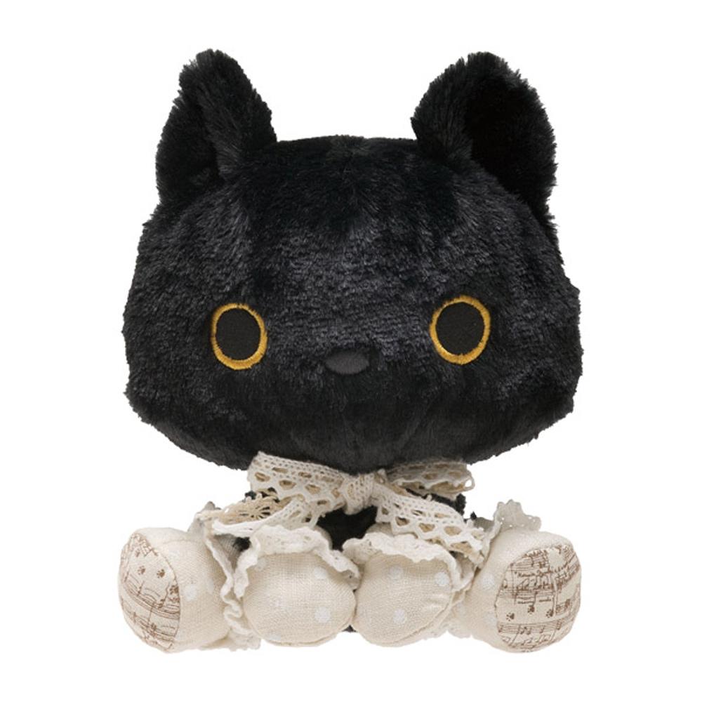 小襪貓音樂幸運草系列毛絨公仔。小襪貓