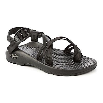 美國Chaco。女 越野運動涼鞋-細織夾腳款CH-ZCW04H405 (黑)