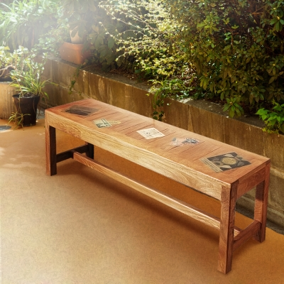 ALMI-DOCKER WORLD - BENCH 140 長板椅(寬140cm)-免組