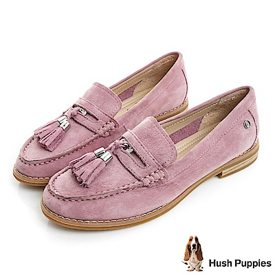 Hush Puppies CHARDON 便士樂福鞋-粉紫
