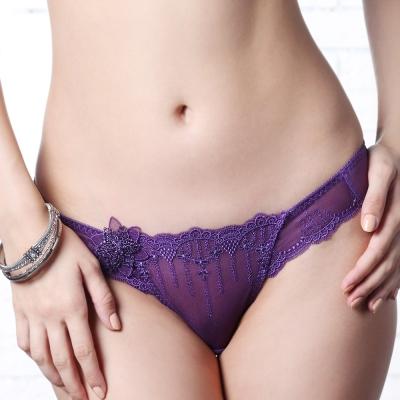 LADY 阿蒂蜜絲系列 低腰三角褲(迷情紫)