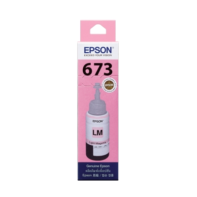 EPSON T673600 原廠淡紅色墨水匣
