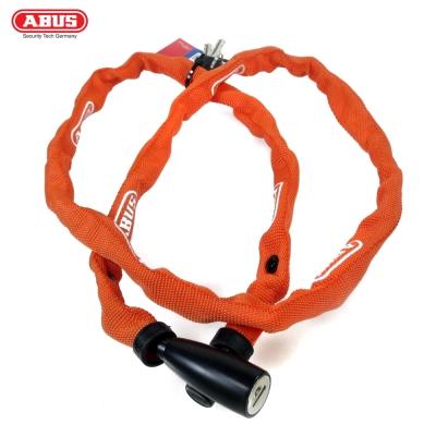ABUS 德國防盜鎖 1500 web Key Chain 110cm單車鑰匙鎖-橘