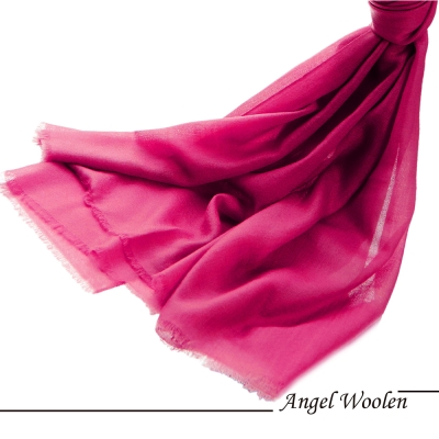 【Angel Woolen】尊貴女王 鑽石紋羊絨披肩