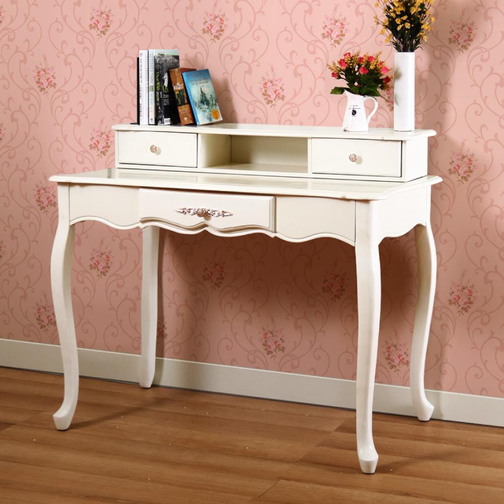 漢妮Hampton克萊兒書桌-米白105x60x90cm
