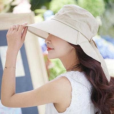 Seoul-Show-日本機能防曬護頸遮陽帽4色