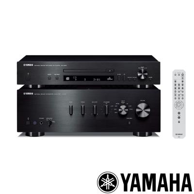 Yamaha Hi-Fi綜合擴大機A-S301+CD-N301 CD播放器