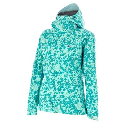 【Berghaus貝豪斯】】女款防水透氣超輕薄 SKYLINE外套H22FO3-綠