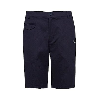 FILA 男平織短褲-丈青1SHS-1425-NV