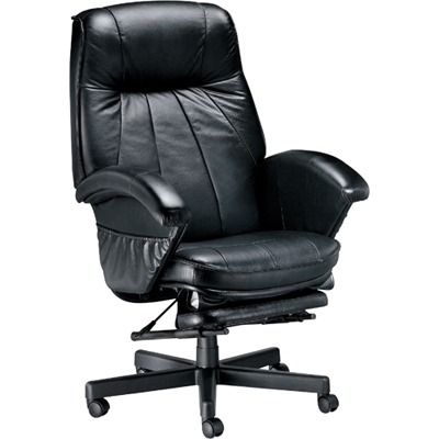 NICK 坐臥兩用高級透氣皮主管椅
