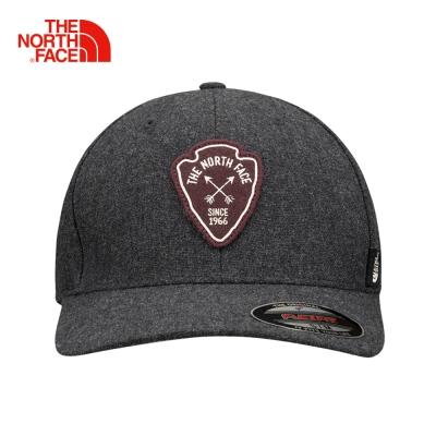 The North Face北面灰色舒適透氣運動帽