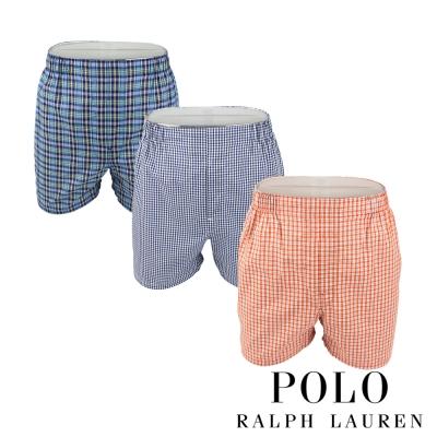 Polo Ralph Lauren 經典馬球純棉平口褲-3入組(69D)