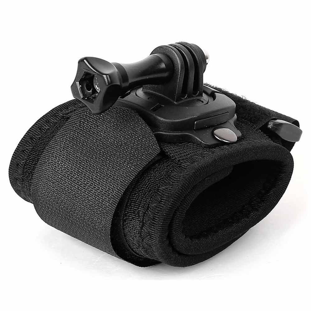 GoPro 專用副廠高彈力舒壓手腕帶 可360度旋轉 for HERO 4 3  3 2